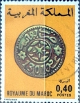 Stamps : Africa : Morocco :  Intercambio 0,20 usd 40 cent. 1979