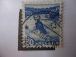 Stamps Switzerland -  Helvetia - Suiza.