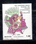 Sellos de America - México -  XXII Congreso Bienal Mundial  Del Colegio internacional de Cirujanos