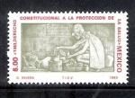 Sellos de America - México -  Derecho Constitucional a la Protección de la Salud