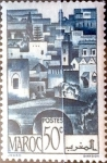 Stamps : Africa : Morocco :  Intercambio 0,20 usd 50 cent. 1947