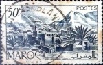 Stamps : Africa : Morocco :  Intercambio 0,30 usd 50 cent. 1950