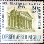 Sellos de America - México -  Intercambio 0,25 usd 30 cent. 1945