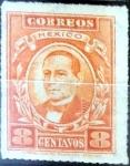 Stamps : America : Mexico :  Intercambio 0,30 usd 8 cent. 1926