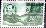 Sellos de America - México -  Intercambio 0,30 usd 35 cent. 1950