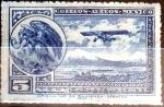 Sellos de America - México -  Intercambio 0,35 usd 5 cent. 1932