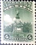 Sellos de America - México -  Intercambio 0,35 usd 4 cent. 1934