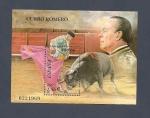 Stamps Spain -  TOROS - Personajes - Torero  Curro Romero