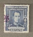 Stamps America - El Salvador -  General Ramón Belloso