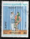Sellos de Asia - Camboya -  Camboya-cambio