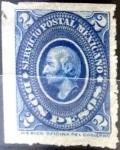Sellos del Mundo : America : México : 2 pesos 1884