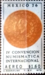 Sellos de America - México -  Intercambio crxf 0,25 usd 1,60 pesos 1976