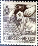 Stamps : America : Mexico :  1 cent. 1946