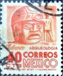 Sellos de America - México -  Intercambio 0,20 usd 40 cent. 1964