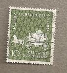 Stamps Germany -  Joseph Eichendorf