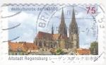 Stamps Germany -  catedral-Altstadt Regensburg