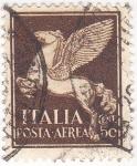 Sellos de Europa - Italia -  caballo alado