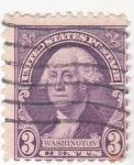 Sellos de America - Estados Unidos -  George Washington- presidente