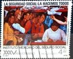Stamps Mexico -  Intercambio 0,20 usd 4,3 pesos 1978