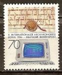 Sellos de Europa - Alemania -  X Congreso Internacional de Archivos Bonn 1984.