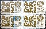 Sellos de America - México -  Intercambio 0,80 usd 4 x 5 pesos 1978