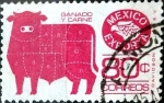 Sellos de America - México -  Intercambio 0,75 usd 80 cent. 1981