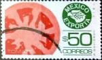 Stamps Mexico -  Intercambio 0,20 usd 50 pesos 1987