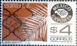 Sellos de America - México -  Intercambio 0,20 usd 4 pesos 1980
