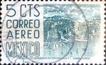 Sellos de America - México -  Intercambio 0,20 usd 5 cent. 1951