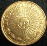 monedas de America - Argentina -  1977 (Anverso)