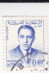 Stamps Morocco -  rey Hassan II