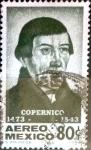 Sellos de America - México -  Intercambio 0,20 usd 80 cent. 1973