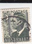 Sellos de Oceania - Australia -  Rey Jorge VI