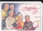 Sellos de Oceania - Australia -  canticos navideños