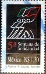 Sellos de America - México -  Intercambio 0,70 usd 1,30 pesos 1994