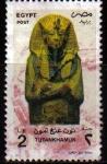 Sellos de Africa - Egipto -  EGIPTO EGYPTO 1998 Scott 1677 Sello Personajes Tutankhamon Tutankhamen Usado