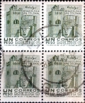 Sellos del Mundo : America : México : Intercambio 1,00 usd 4 x 1 peso 1958