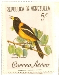 Stamps America - Venezuela -  Pajaros de Venezuela