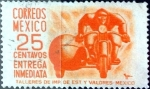 Sellos del Mundo : America : México : Intercambio 0,20 usd 25 cent. 1954
