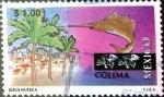 Sellos de America - México -  Intercambio 0,20 usd 1 peso  1997