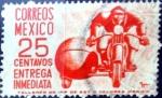 Sellos del Mundo : America : México : Intercambio 0,20 usd 25 cent. 1950