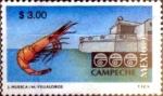 Stamps Mexico -  Intercambio 0,40 usd 3 pesos 1996