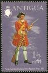 Stamps Antigua and Barbuda -  Soldado.