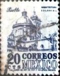 Stamps : America : Mexico :  Intercambio 0,20 usd 20 cent. 1950
