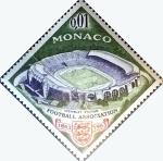 Stamps : Europe : Monaco :  Intercambio 0,20 usd 1 cent. 1963