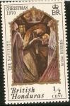 Stamps Honduras -  BRITISH HONDURAS - Cristmas.