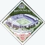 Stamps : Europe : Monaco :  Intercambio jxa 0,20 usd 1 cent. 1963
