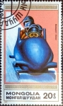 Stamps : Asia : Mongolia :  Intercambio nfxb 0,20 usd 20 m. 1990