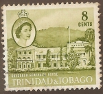Stamps America - Trinidad y Tobago -  GOVERNOR GENERAL S HOUSE.