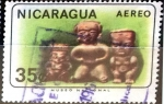 Stamps : America : Nicaragua :  Intercambio 0,20 usd 35 cent. 1965
